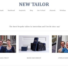 New Tailor – Moda & sklepy odzieżowe w Niderlandach, Utrecht